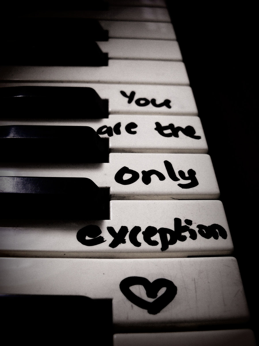 The only exception chords